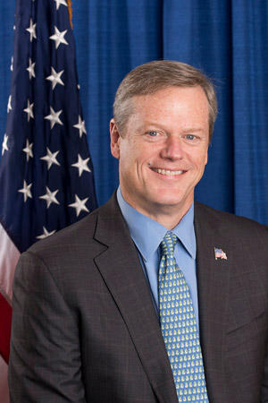 This is picture of Massachusetts Governor Charlie Baker