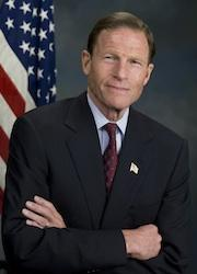 This is a picture of Connecticut U.S. Senator Richard Blumenthal