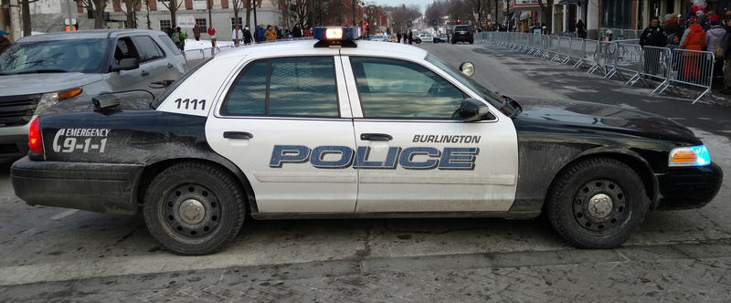 Burlington Police car