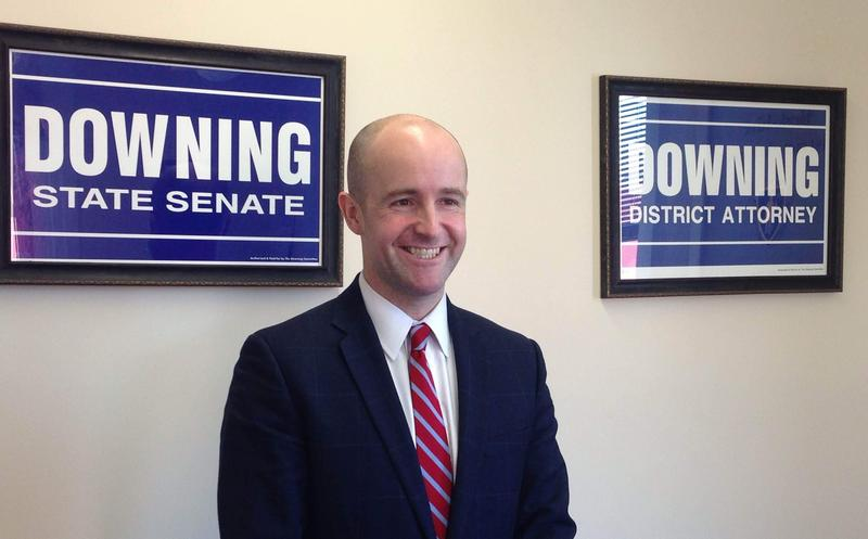This is a picture of Massachusetts State Senator Ben Downing.