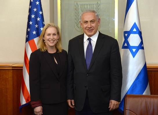 Gillibrand & Netanyahu