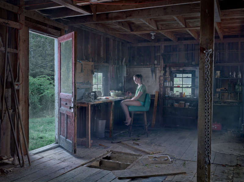 Art Photograph - The Barn by Gregory Crewdson
