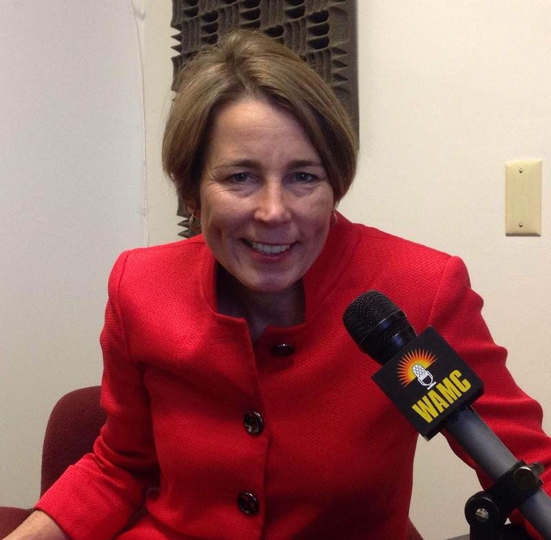 This is a picture of Massachusetts Attorney General Maura Healey