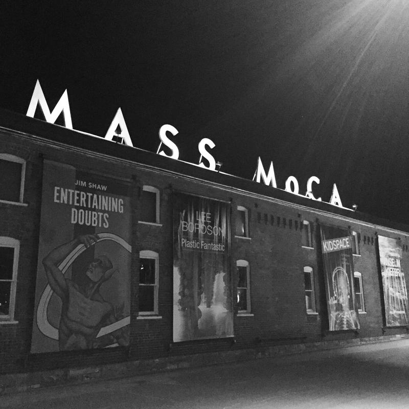 MASS MoCA at night