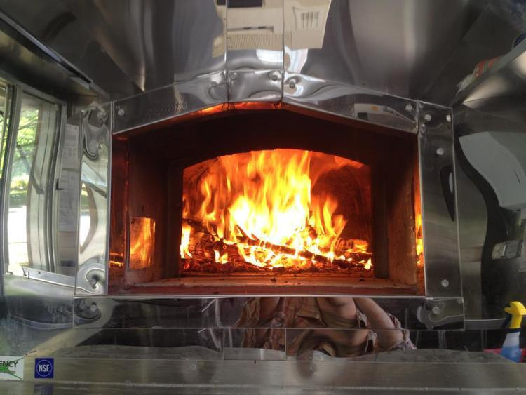Oven at Black Forest Flammkuchen