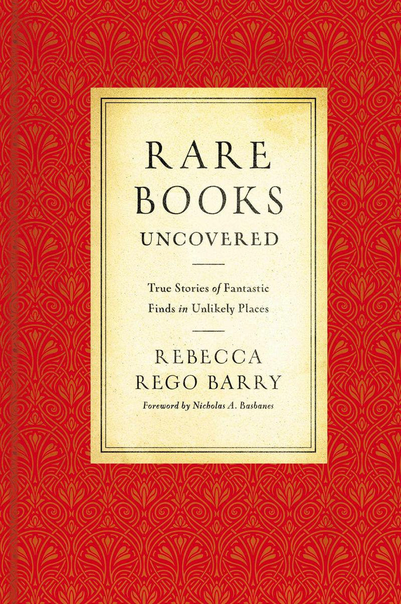 Book Cover - Rare Books Uncovered