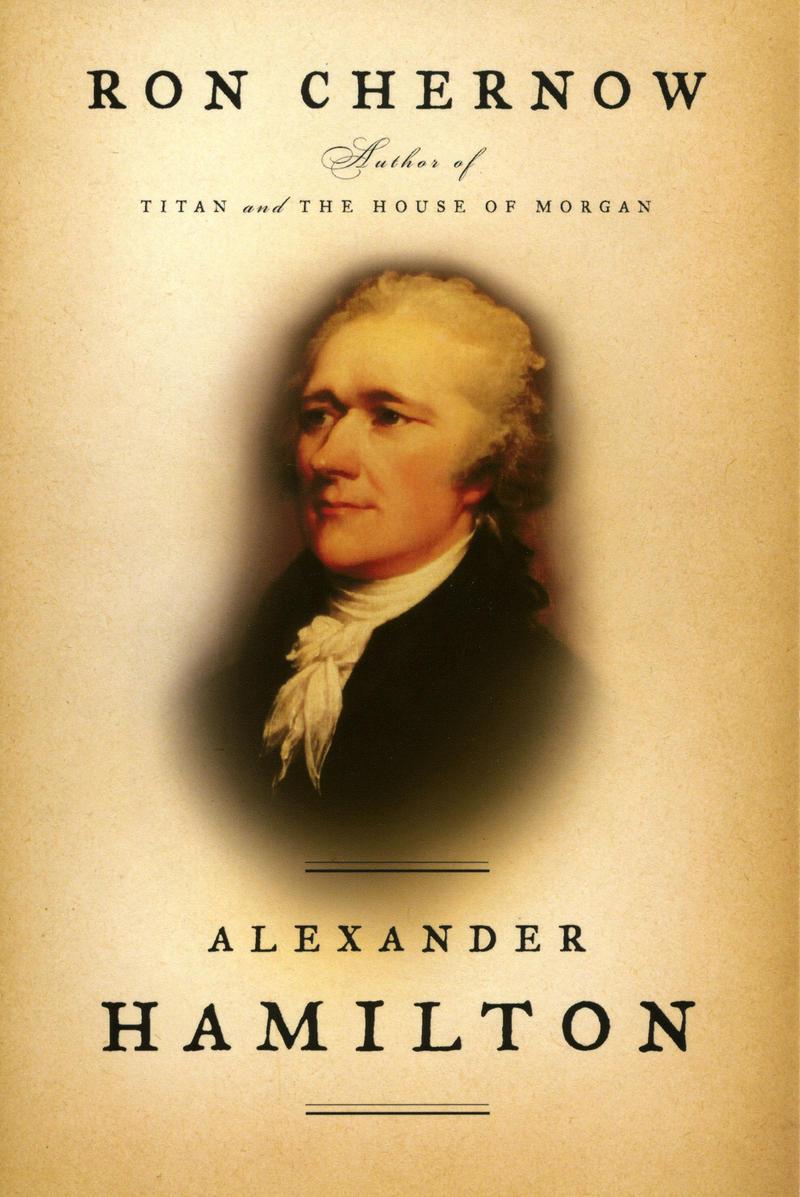 Book Cover - Alexander Hamilton