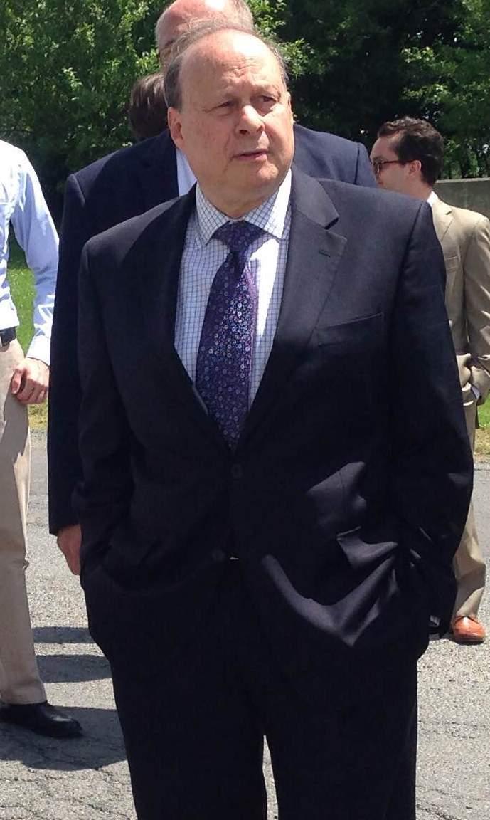 This is a picture of Massachusetts Senate President Stan Rosenberg