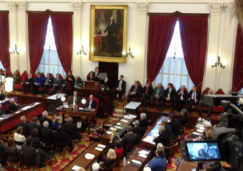 Governor Peter Shumlin delivers budget address