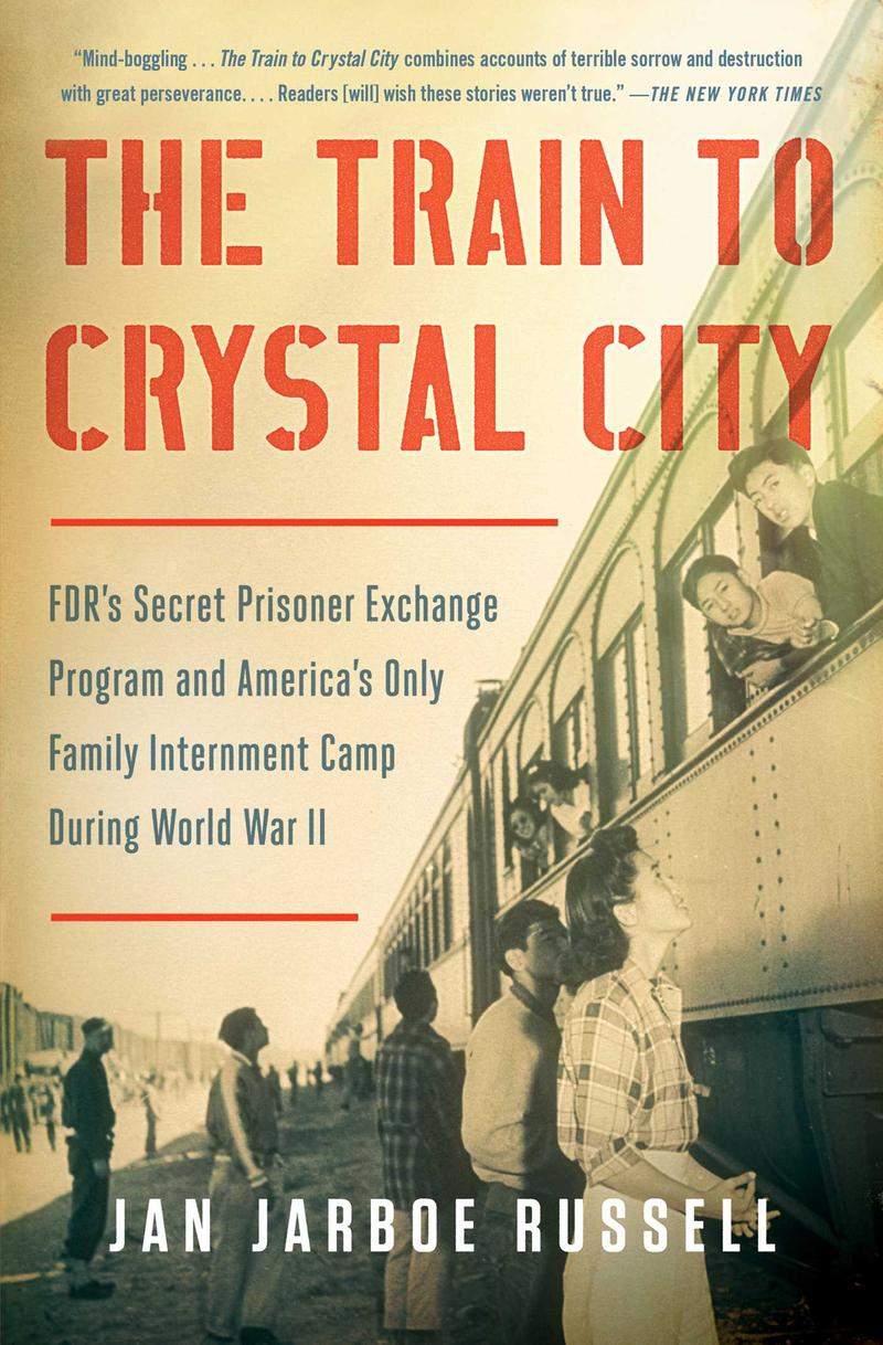 Book Cover - The Train to Crystal City