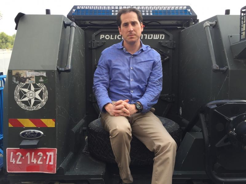 Assemblyman Todd Kaminsky travels to Israel on solidarity mission.