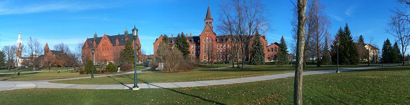 University of Vermont panorama