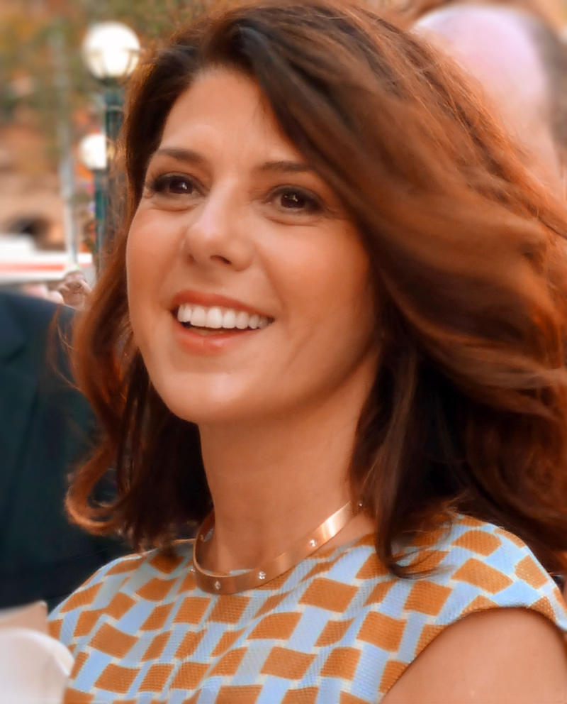 This is a picture of actress Marisa Tomei at the 2012 Toronto International Film Festival