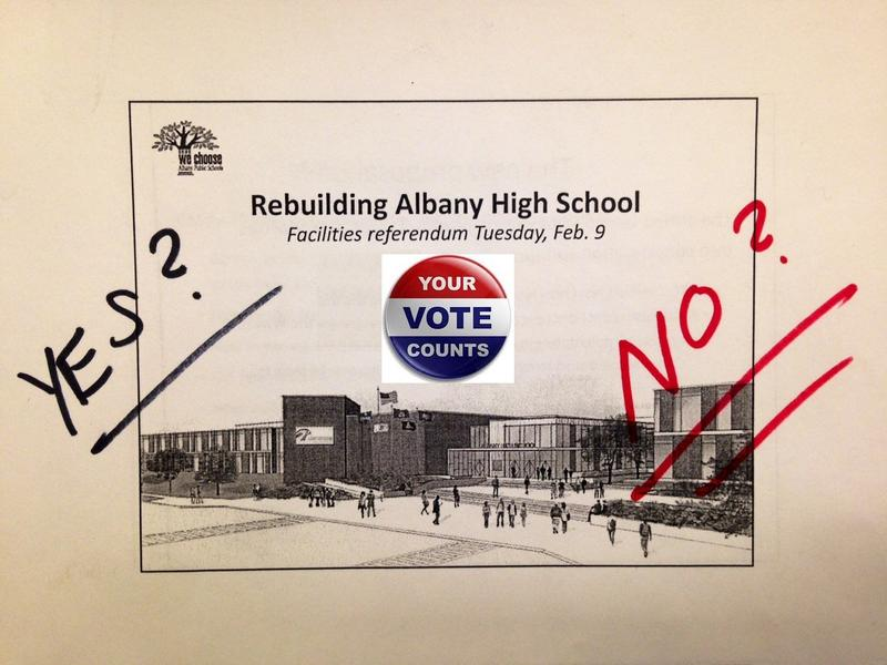 In November, voters narrowly rejected a $196 million plan for a major makeover and addition to Albany High School. A revote on a scaled-back version takes place Feb. 9.