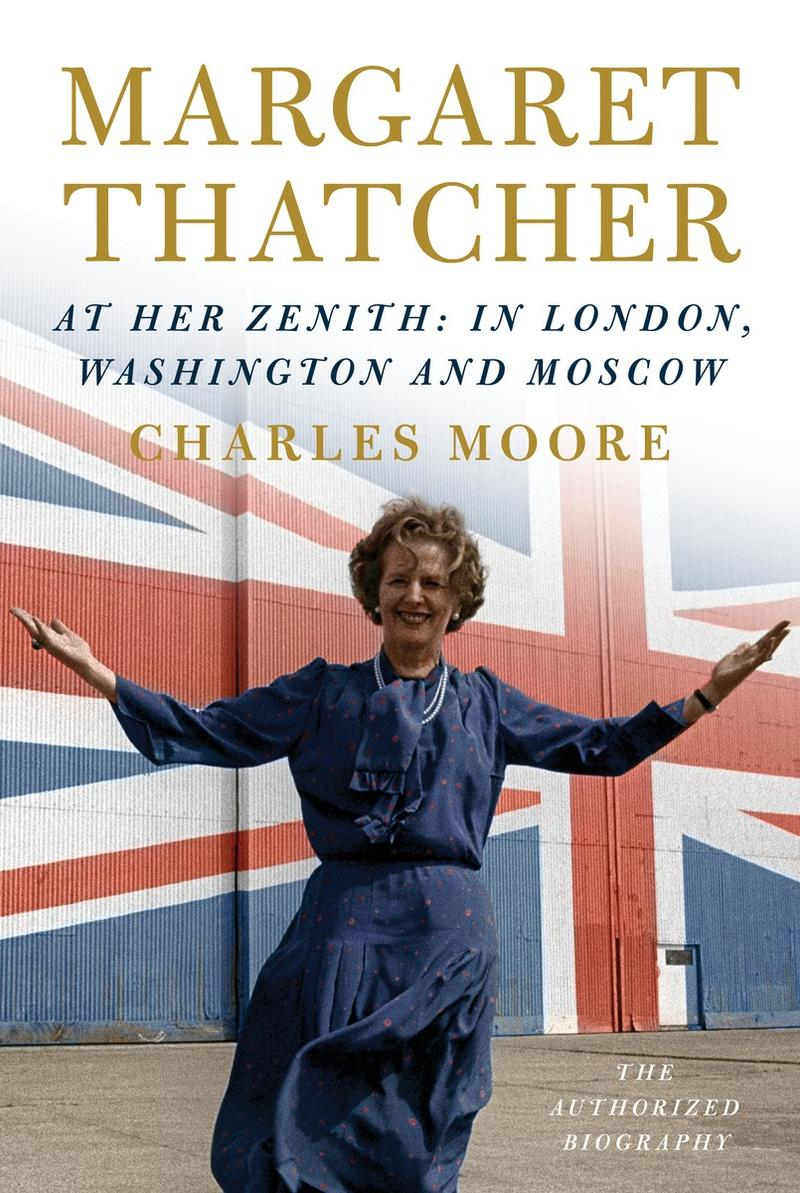 Book Cover - Margaret Thatcher At Her Zenith