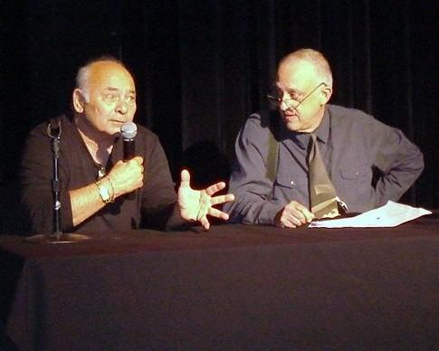 Burt Young and Rob Edelman
