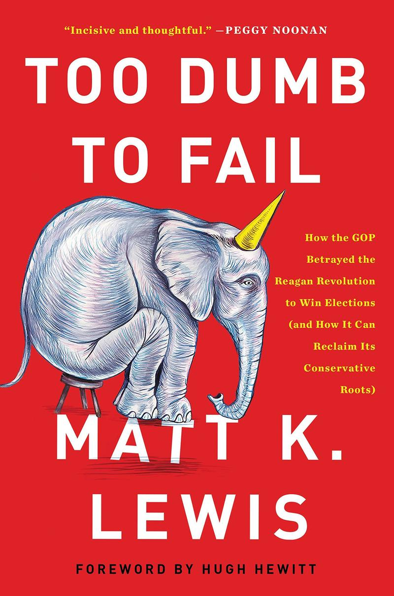 Book Cover - Too Dumb to Fail