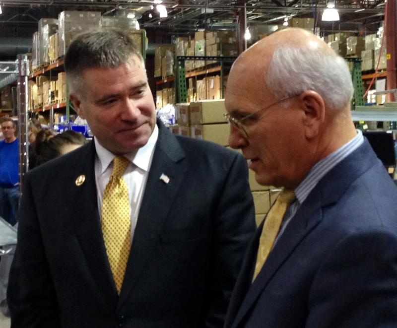 Reps. Gibson and Tonko at Plug Power , Latham NY (February 2016)