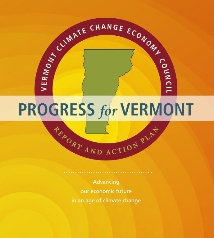 Progress for Vermont report cover