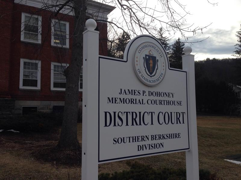This is a picture of the sign outside the Southern Berkshire District Court House