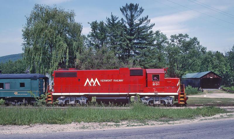 Vermont Railway train