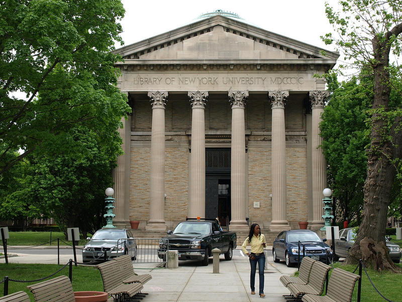 Gould Memorial Library at Bronx Community College, University Heights, Bronx NYC