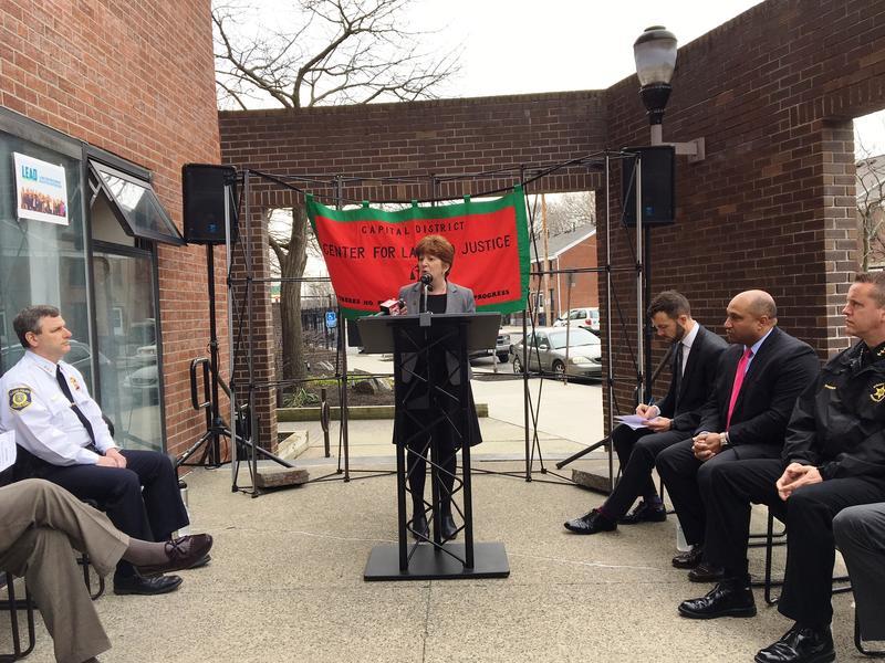 Mayor Kathy Sheehan told the crowd