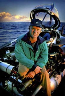 This is a picture of Robert Ballard