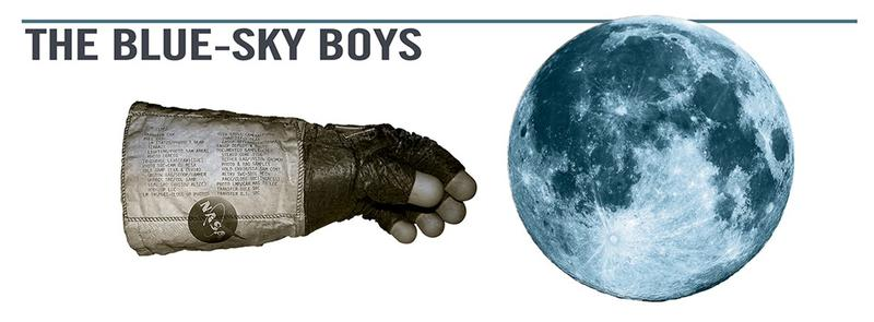 Promotional artwork for The Blue-Sky Boys at TheRep