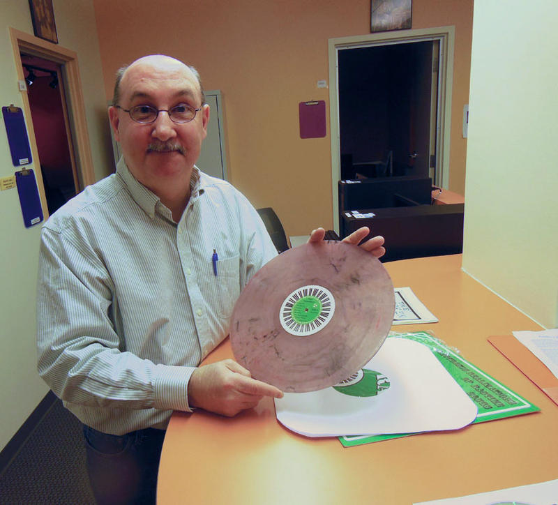 Tim Clukey with Recycled Rags album
