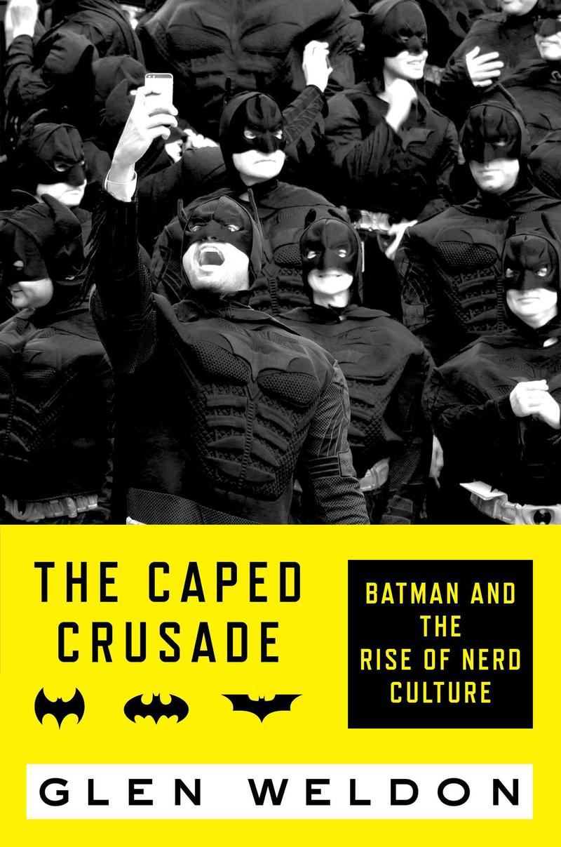 Book Cover - The Caped Crusade