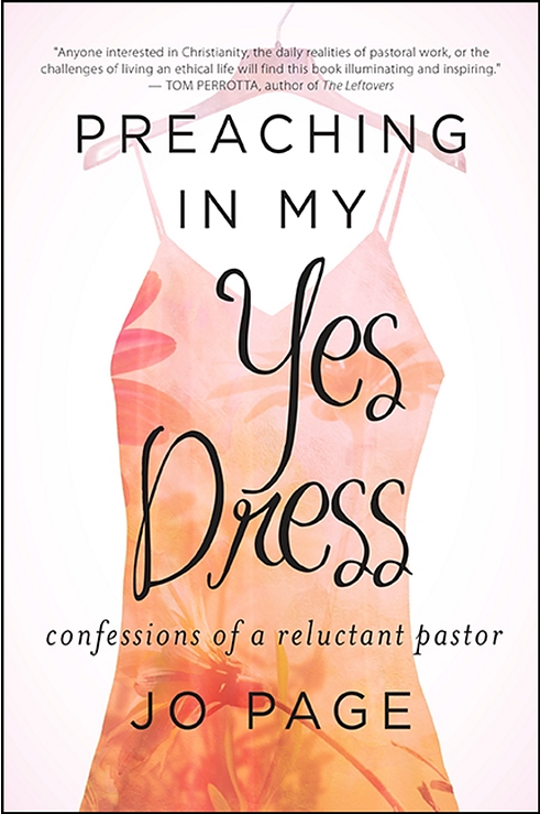 Book Cover - Preaching In My Yes Dress