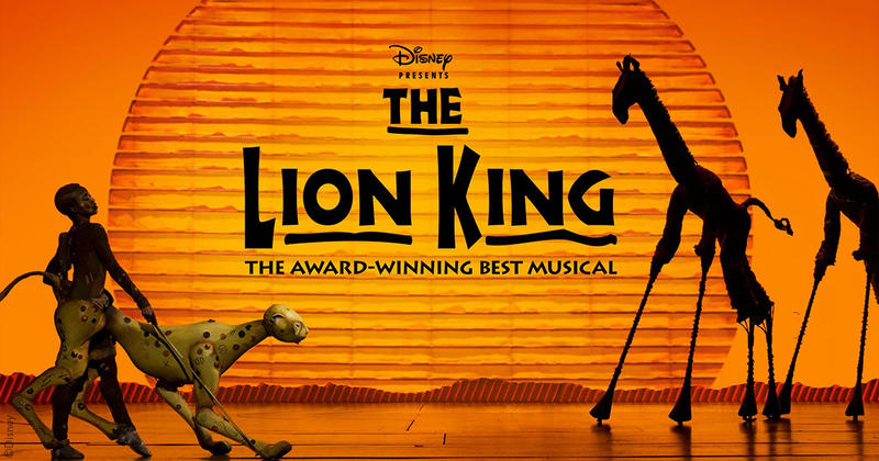 Artwork for Disney's The Lion King stage musical