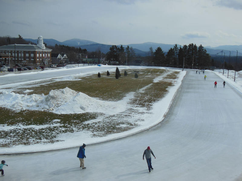Lake Placid Olympic skating rink