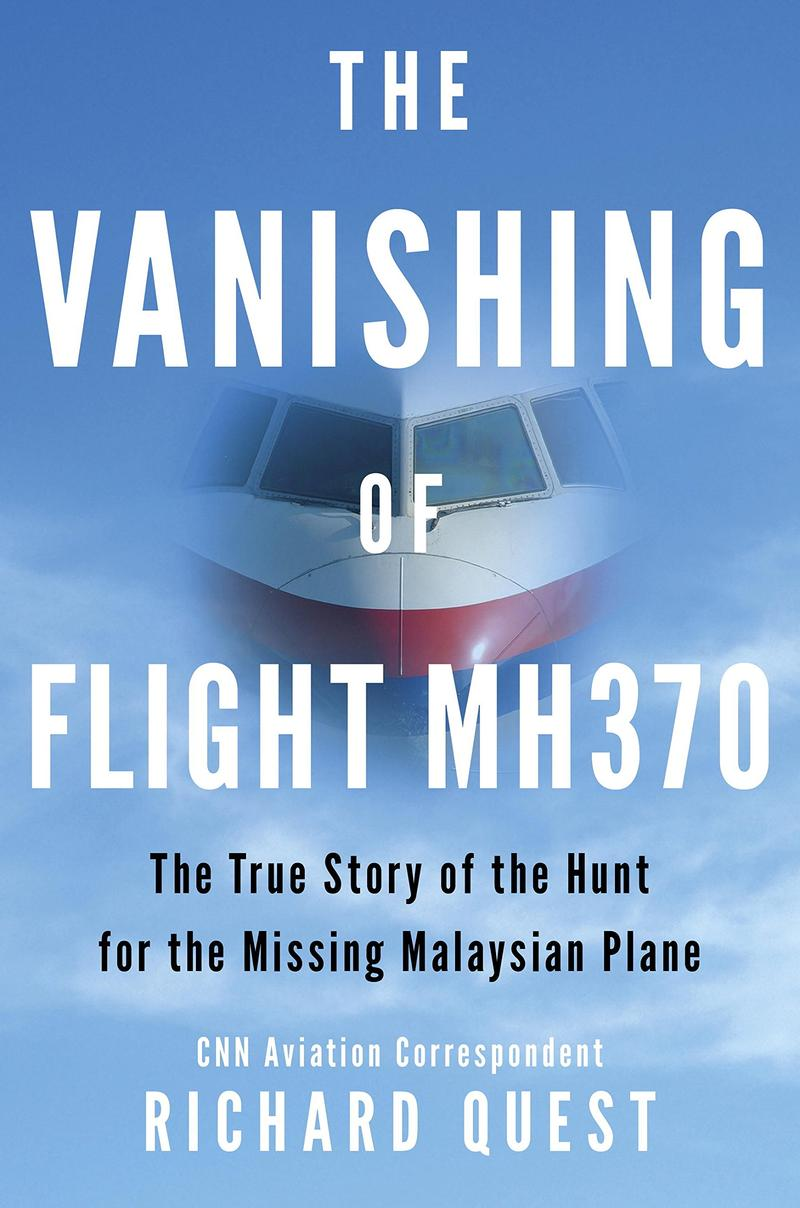 Book Cover - The Vanishing of Flight MH370