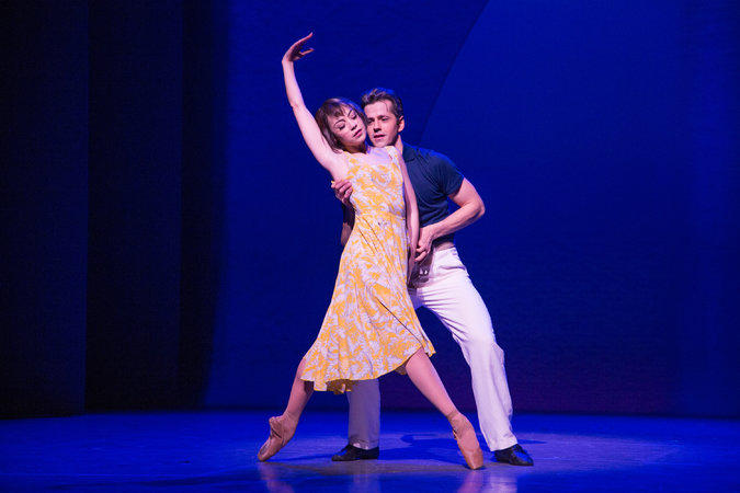 Leanne Cope and Robbie Fairchild in An American in Paris