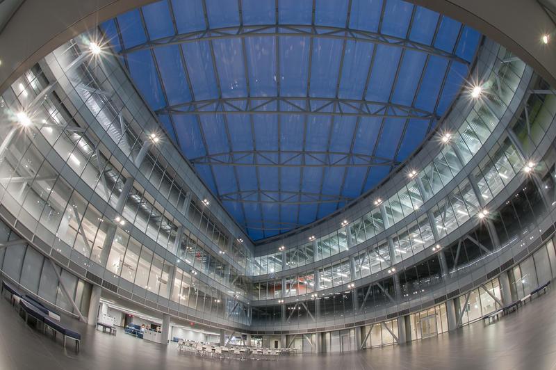 SUNY Poly's Zero Energy Nano (ZEN) Building.