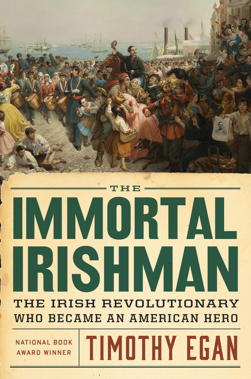 Book Cover - The Immortal Irishman