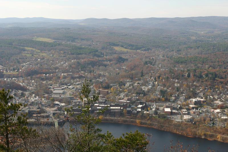 View of Brattleboro, Vermont
