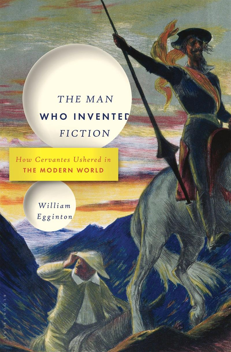 Book Cover - The Man Who Invented Fiction