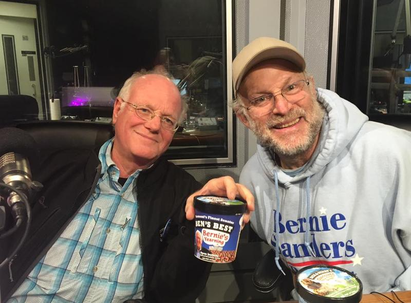 Ben & Jerry in the WAMC studio