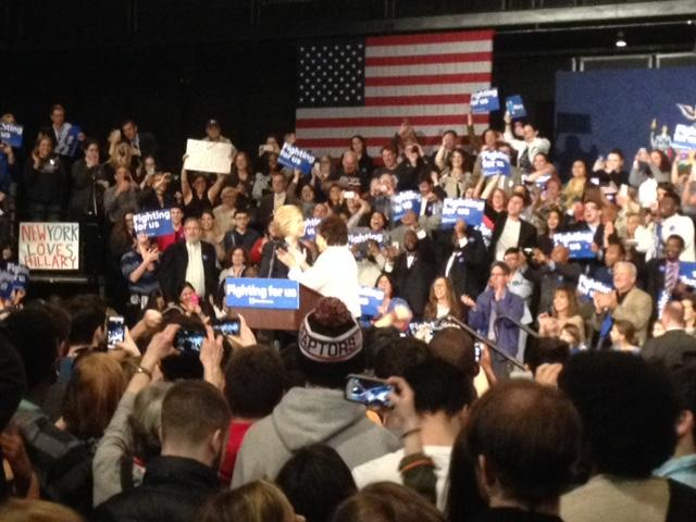 Congresswoman Nita Lowey introduces Hillary Clinton