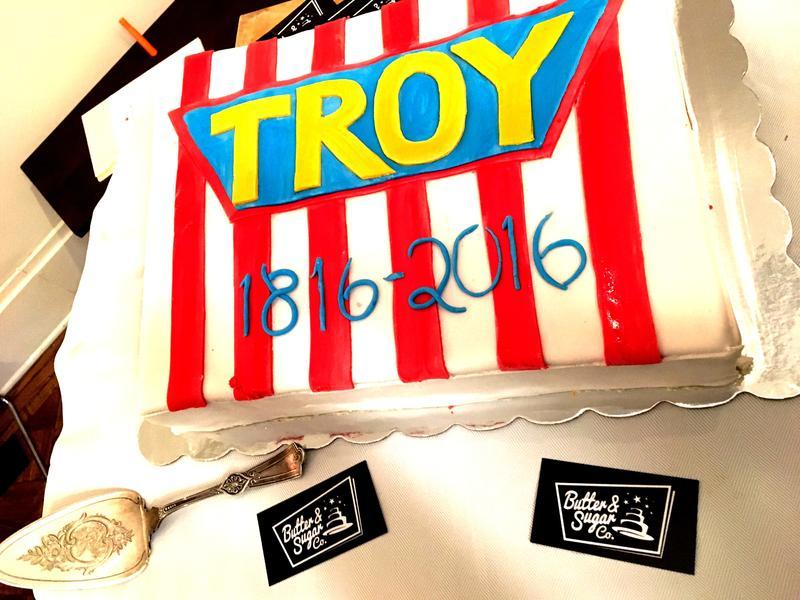 Troy Bicentennial Cake