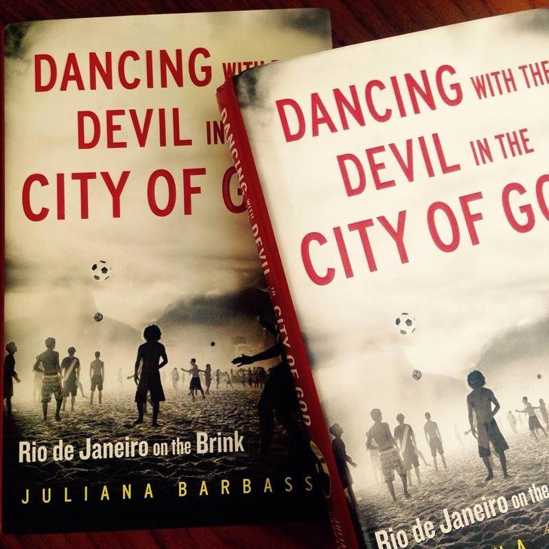 This is a picture of the book Facebook: Dancing with the Devil in the City of God: Rio de Janeiro on the Brink