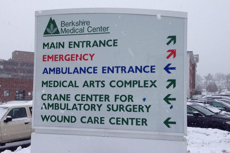 This is a picture of Berkshire Medical Center's sign