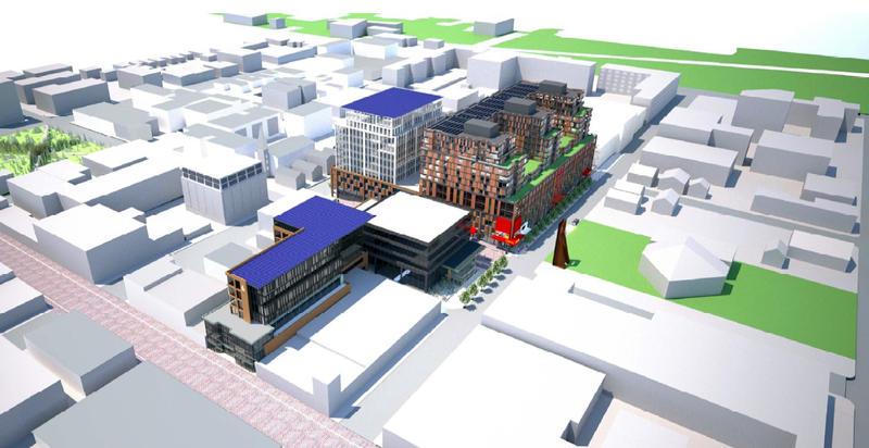 Burlington Town Center rendering