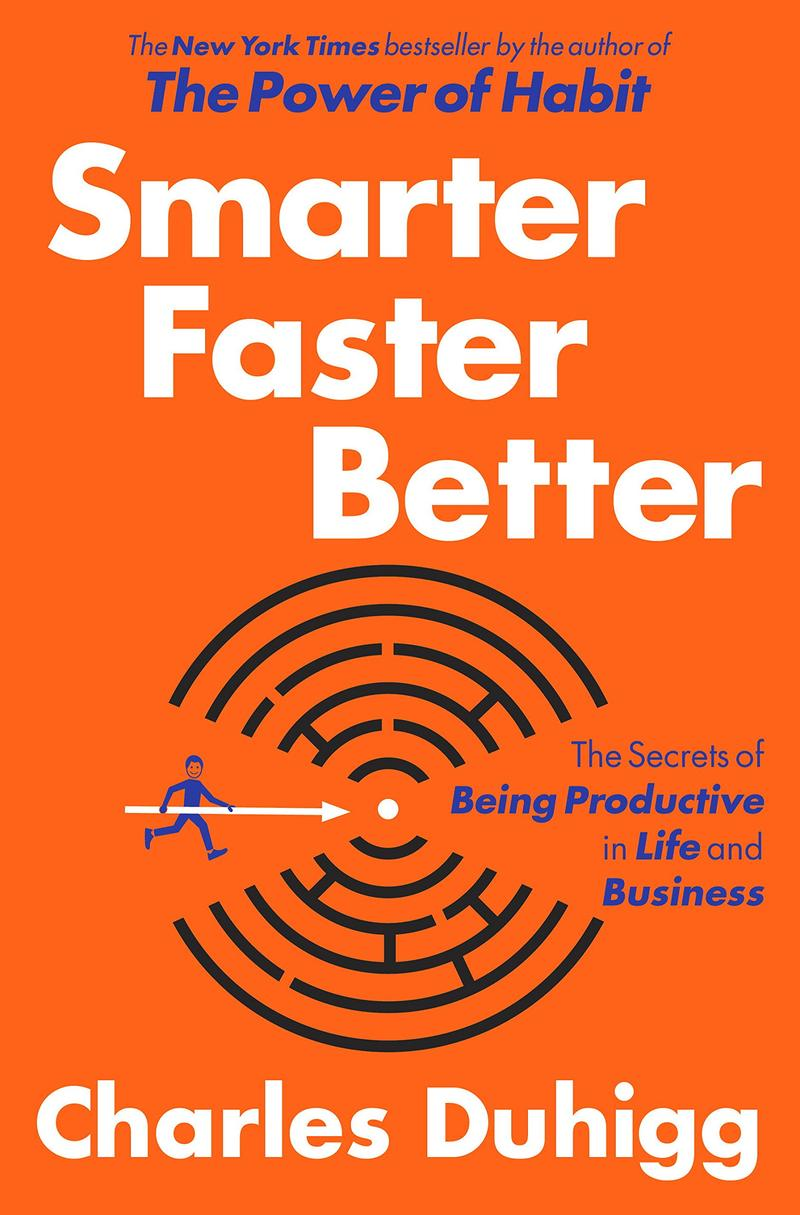 Book Cover - Smarter Faster Better