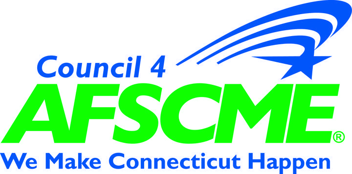 This is the logo of Council 4 of the American Federation of State, County and Municipal Employees