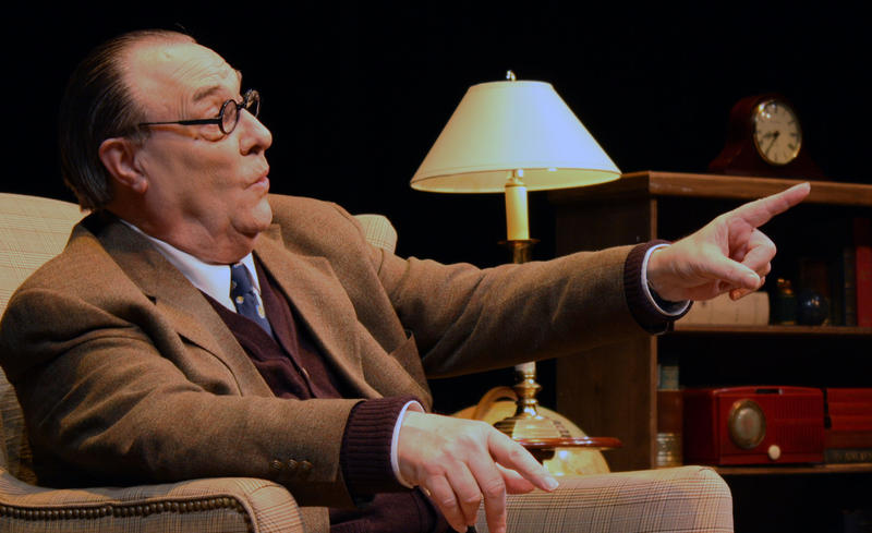 David Payne in An Evening with C.S. Lewis