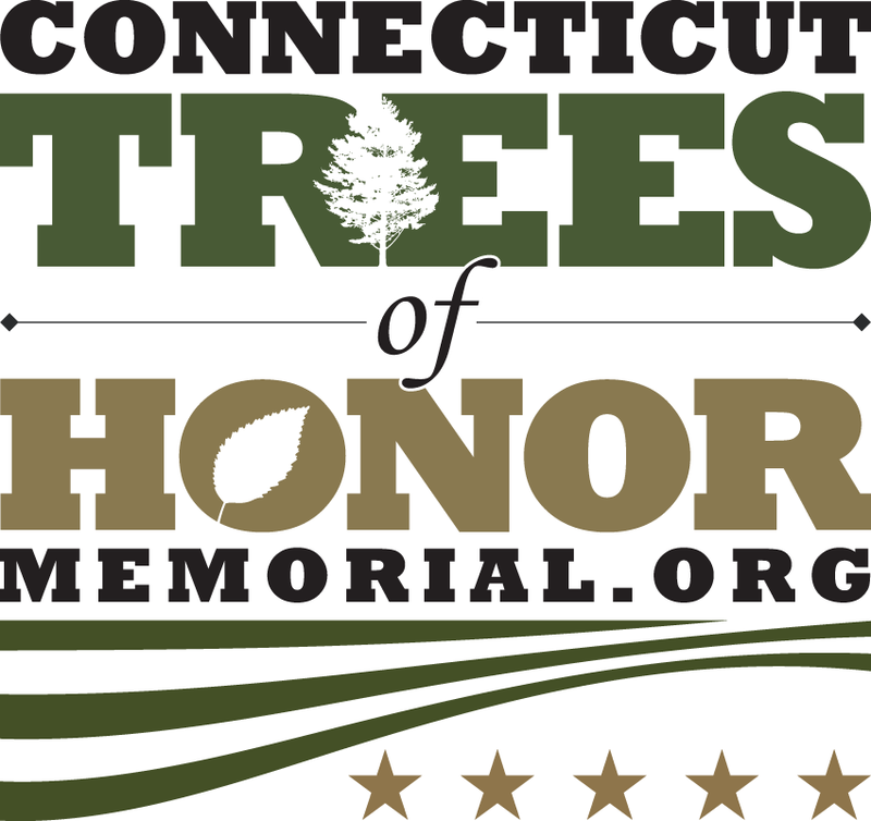 The logo of the Connecticut Trees of Honor Memorial